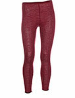 Legging rouge POUSSIERE D'ETOLE pour femme