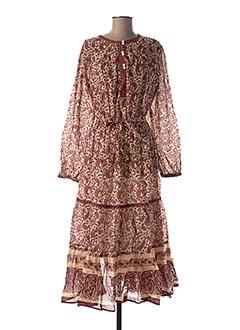 Robe courte rouge GOA pour femme