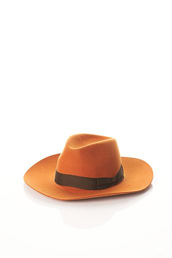 Chapeau marron BCAT pour femme
