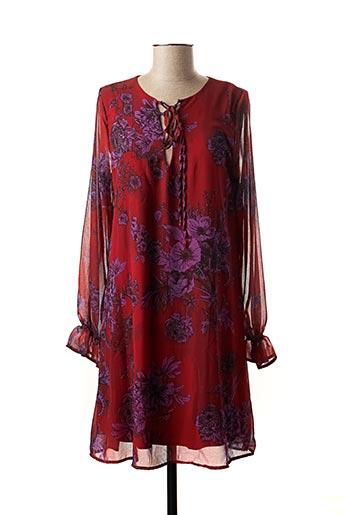 Robe mi-longue rouge MARKUP pour femme