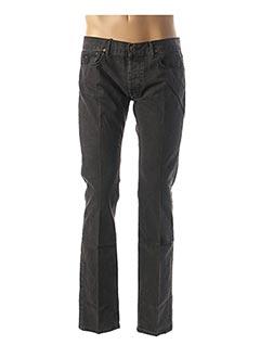 Jeans coupe droite gris APRIL 77 pour homme