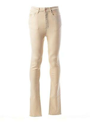 Pantalon casual beige APRIL 77 pour homme