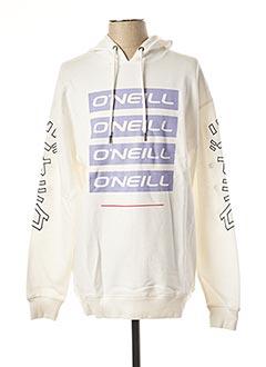 Sweat-shirt blanc O'NEILL pour homme
