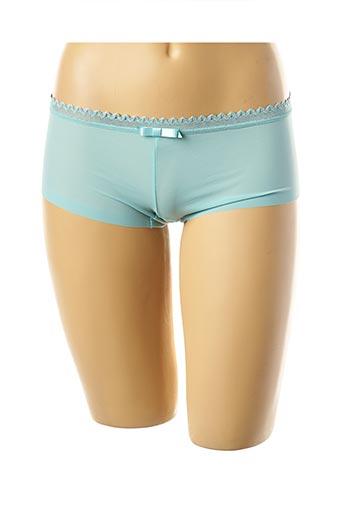 Shorty/Boxer bleu LOU pour femme