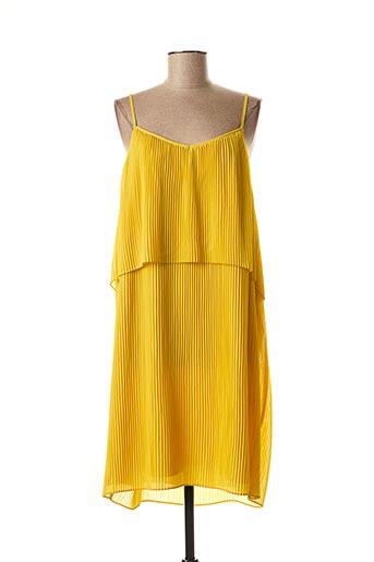 Robe mi-longue jaune MAISON 123 pour femme