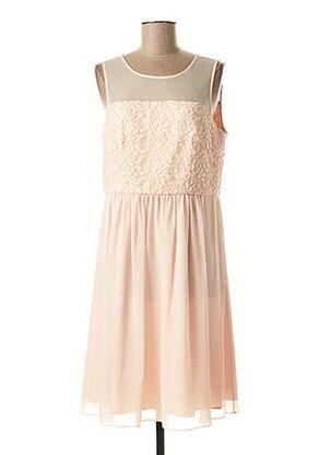 Robe mi-longue rose MAISON 123 pour femme