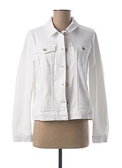 Veste en jean blanc 1 2 3 pour femme