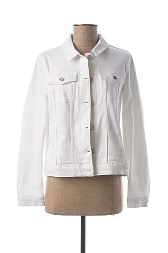 Veste en jean blanc MAISON 123 pour femme
