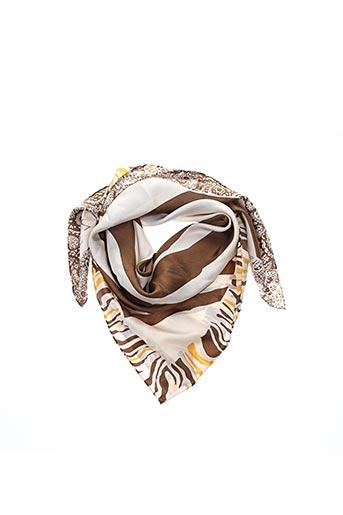 Foulard beige MAISON 123 pour femme
