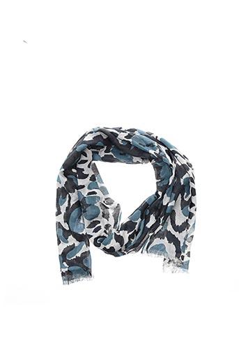 Foulard gris 1 2 3 pour femme