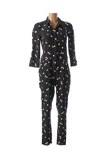 Combi-pantalon noir MAISON 123 pour femme