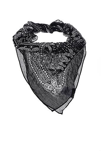 Foulard noir MAISON 123 pour femme