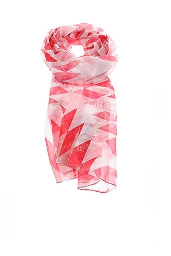 Foulard rose MAISON 123 pour femme