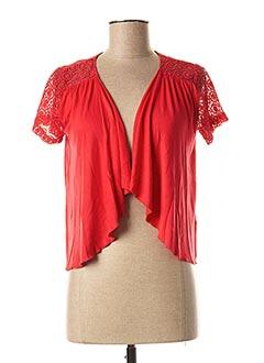 Veste casual rouge COLINE pour femme