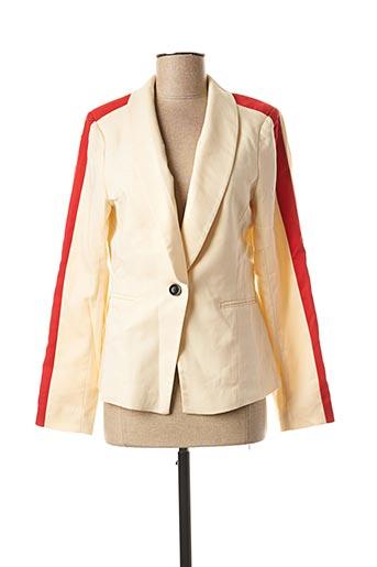 Veste casual beige CHATTAWAK pour femme