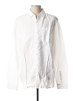 Chemise manches longues blanc PETROL INDUSTRIES pour homme