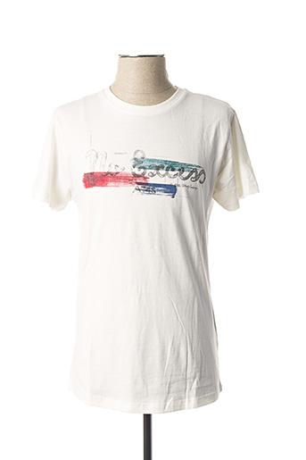 T-shirt manches courtes blanc NO EXCESS pour homme