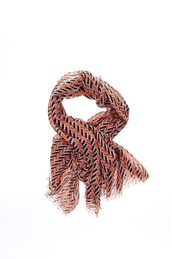 Foulard orange B.YOUNG pour femme