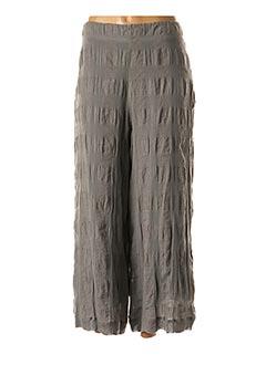 Pantalon casual gris CREA CONCEPT pour femme