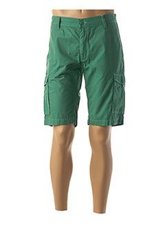 Bermuda vert PIONEER pour homme