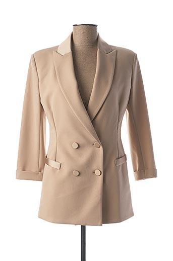 Veste casual beige IMPERIAL pour femme