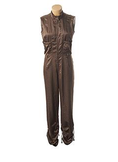Combi-pantalon vert ROSA ROSAM pour femme
