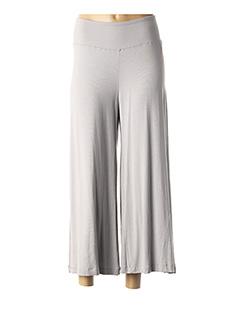 Pantalon 7/8 gris LAUREN VIDAL pour femme