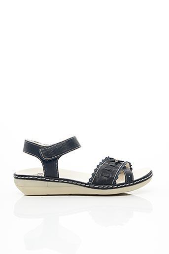 Sandales/Nu pieds bleu BRAKO pour femme