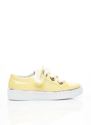 Baskets jaune CYCLEUR DE LUXE pour femme
