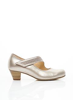 Chaussures de confort beige GABOR pour femme
