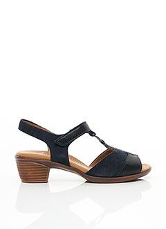 Sandales/Nu pieds bleu ARA pour femme