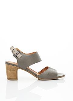 Sandales/Nu pieds gris MINKA DESIGN pour femme