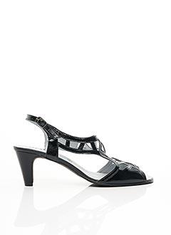 Sandales/Nu pieds noir ARTIKA SOFT pour femme