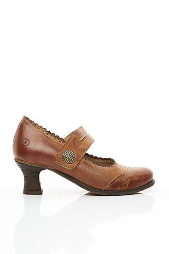 Escarpins marron CASTA pour femme