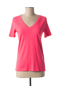 T-shirt manches longues rose STREET ONE pour femme
