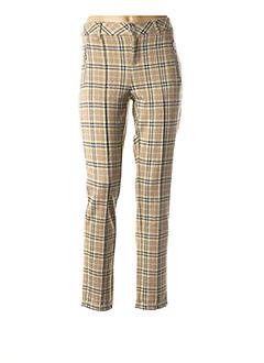 Pantalon chic beige STREET ONE pour femme