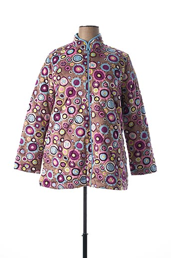 Robe de chambre rose SENORETTA pour femme