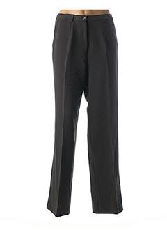 Pantalon chic gris FRANCOISE F pour femme