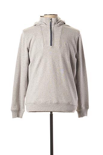 Sweat-shirt gris FYNCH-HATTON pour homme
