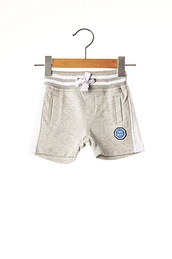 Short gris NANO & NANETTE pour garçon