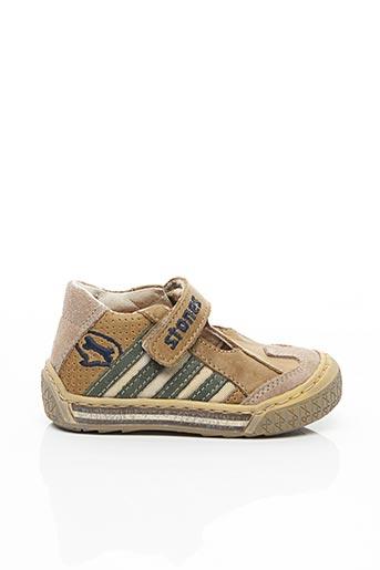 Sandales/Nu pieds beige STONES AND BONES pour garçon