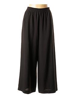 Pantalon 7/8 noir CREA CONCEPT pour femme