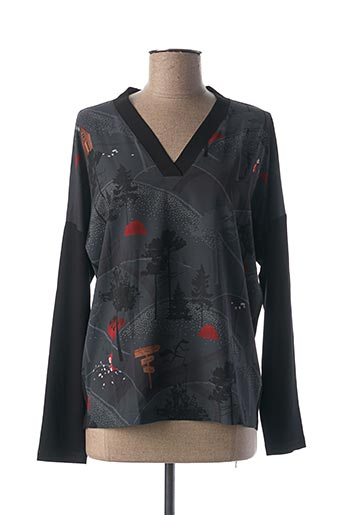 T-shirt manches longues noir ANANKE pour femme
