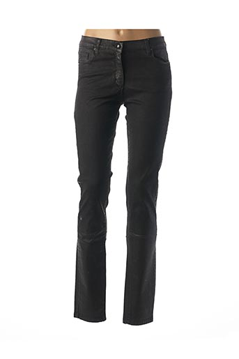 Pantalon casual noir CARLA KOPS pour femme