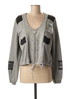 Veste casual gris ALAIN MURATI pour femme