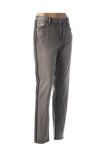 Jeans skinny gris ESQUALO pour femme