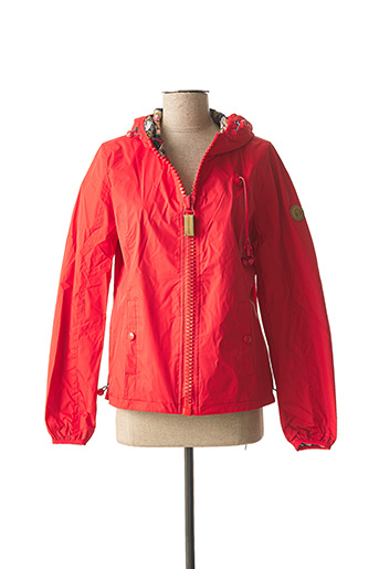 Imperméable/Trench rouge 80DBORIGINAL pour fille