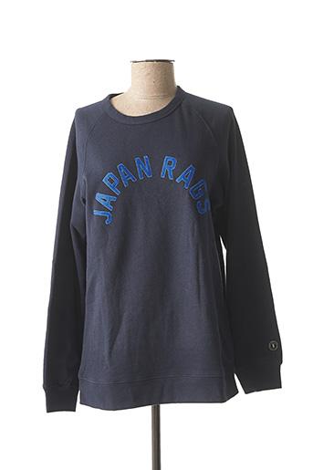Sweat-shirt bleu LE TEMPS DES CERISES pour garçon