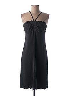 Robe courte noir GENIUS pour femme