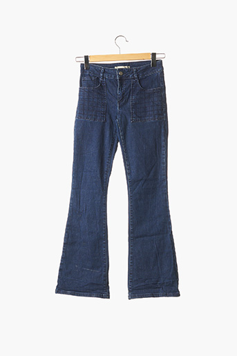 Jeans bootcut bleu ACOTÉ pour femme